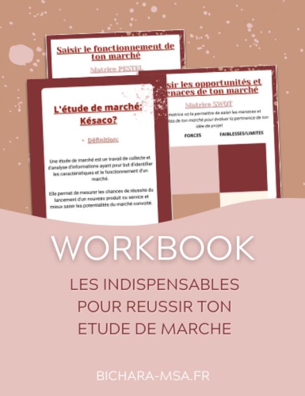 Mockup Workbook - Magnet Etude de marché